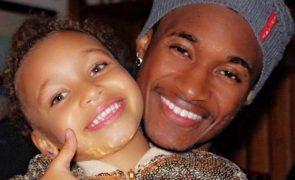 Yannick Djaló Deixa mensagem à filha mais velha, que não vê há mais de um ano