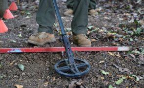 Japão ajuda Angola a livrar-se de minas com material e formação no valor de 1,6 ME