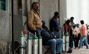 Covid-19: México com recorde de 16.468  casos num só dia