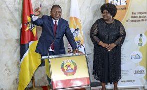 Primeiro ano de novo mandato de Nyusi trouxe