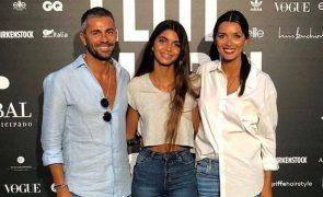 Longe da filha, Maria Cerqueira Gomes apoia-se no ex-companheiro