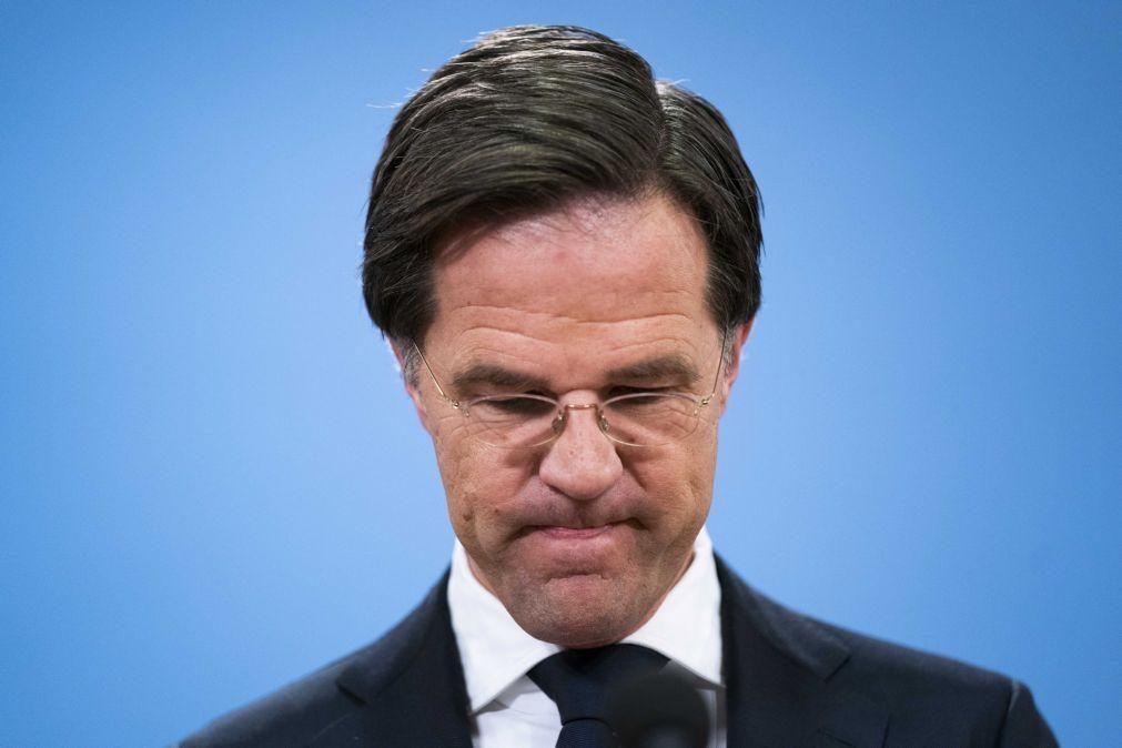 Primeiro-ministro holandês Mark Rutte confirma demissão