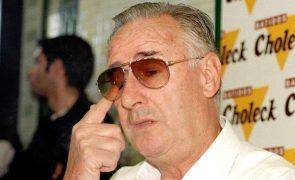 Morreu Vicente Cantatore, antigo treinador do Sporting