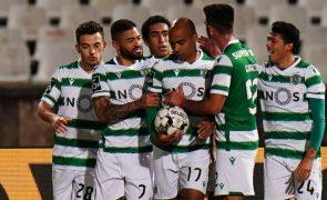 Sporting e Rio Ave empatam em Alvalade a um golo [vídeo]