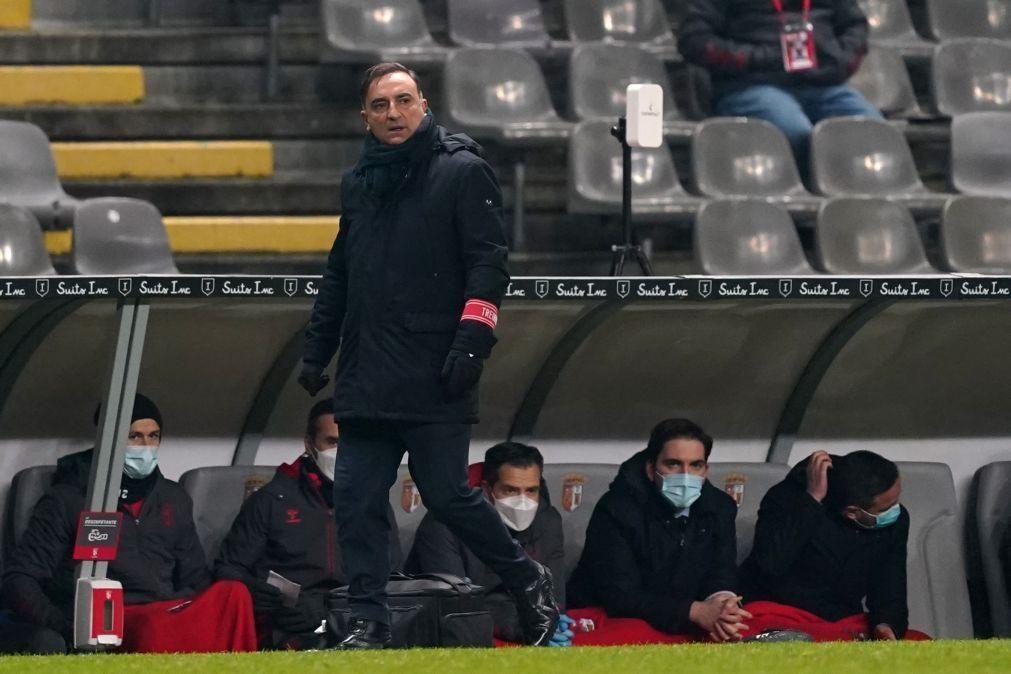Carlos Carvalhal quer um Sporting de Braga