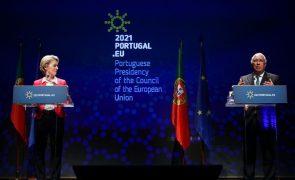 UE/Presidência: Recuperação económica é a nossa principal prioridade até junho -- Costa