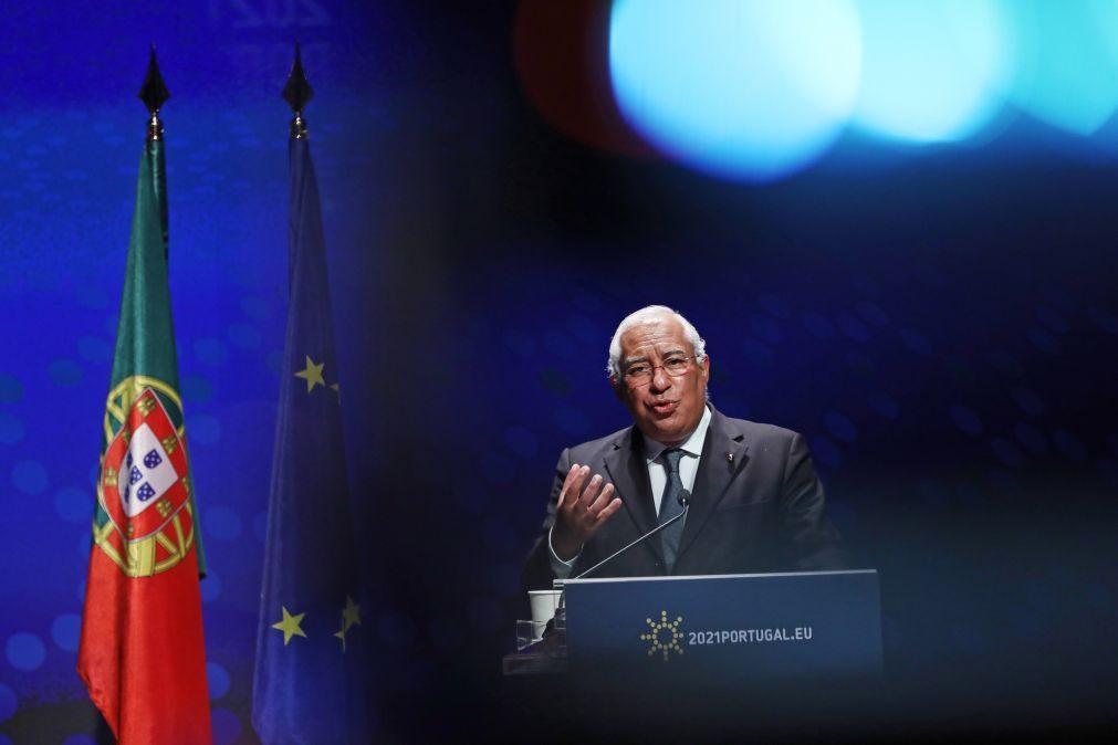 UE/Presidência: Costa admite suspensão das regras do Pacto de Estabilidade para além de 2021