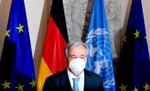 Covid-19: Guterres critica falta de solidariedade após dois milhões de mortes
