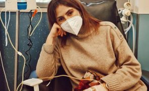 Joana Cruz com cancro na mama submetida a quimioterapia