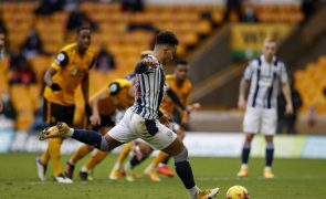 Wolverhampton soma sexto jogo sem vencer na liga inglesa