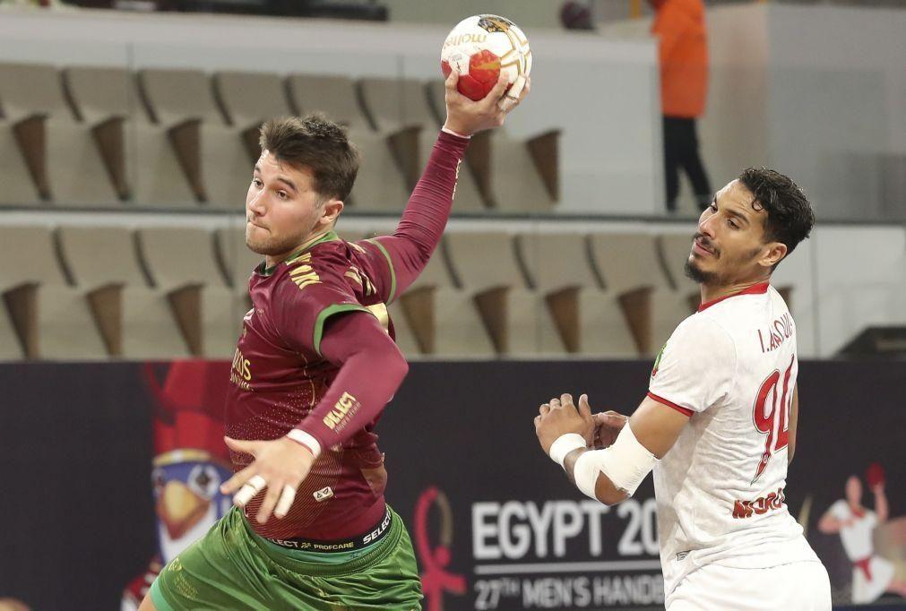 Andebol/Mundial: Portugal com encontro marcado com a França na ronda principal