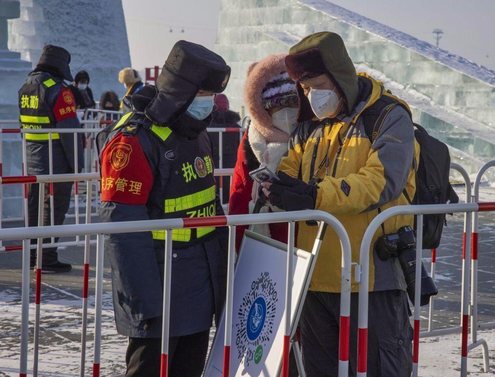 Covid-19: China regista 109 novos casos