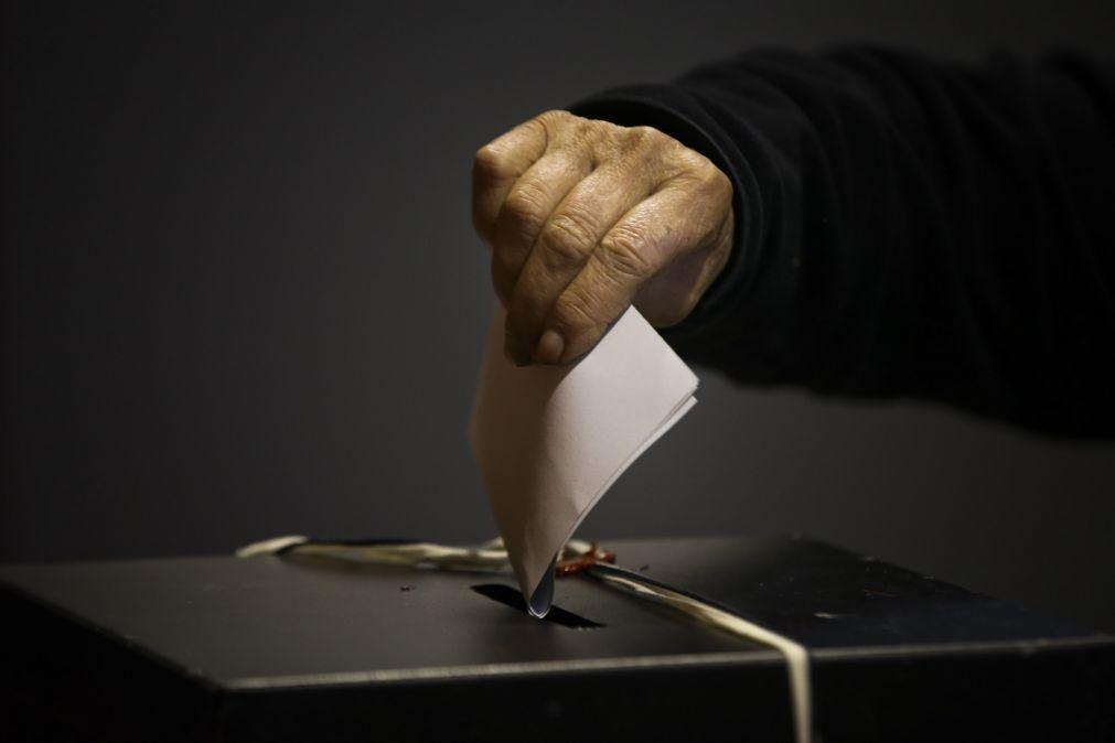 Mais de 246 mil eleitores começaram hoje a votar para as presidenciais