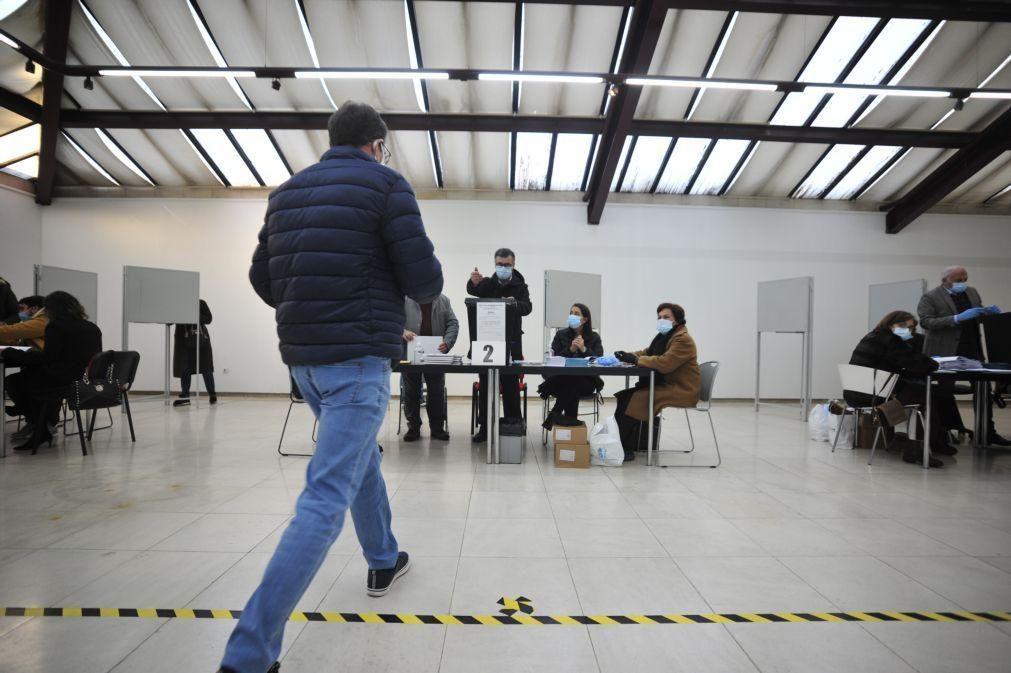 Voto antecipado em mobilidade com boa afluência e sem incidentes