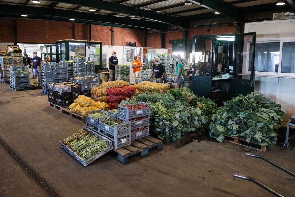 Covid-19: Mercados abastecedores continuam em atividade no estado de emergência