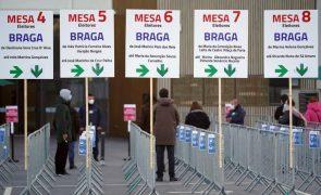 Presidenciais: Eleitores em Braga preferem o frio ao perigo da pandemia