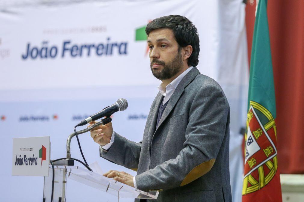 Presidenciais: PR deve usar poderes para aprovação de nova lei da habitação - João Ferreira