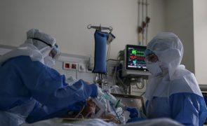 Covid-19: Hospitais da ARSLVT com 2.054 doentes internados
