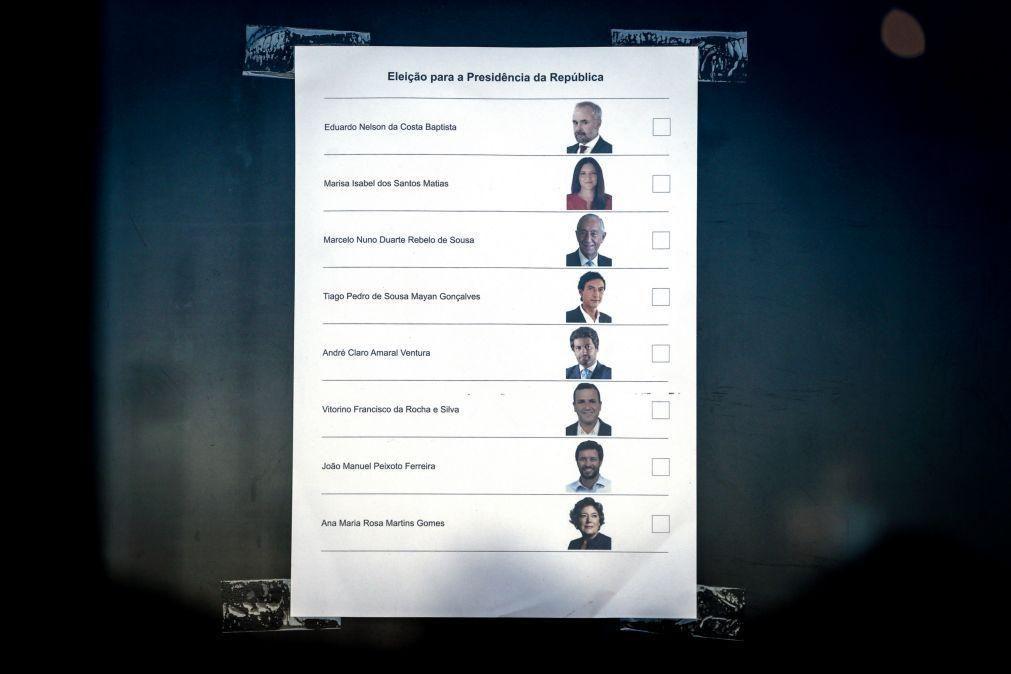 Presidenciais: Movimento