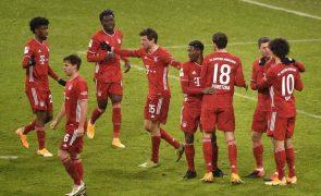 Bayern Munique volta às vitórias e reforça liderança na Alemanha