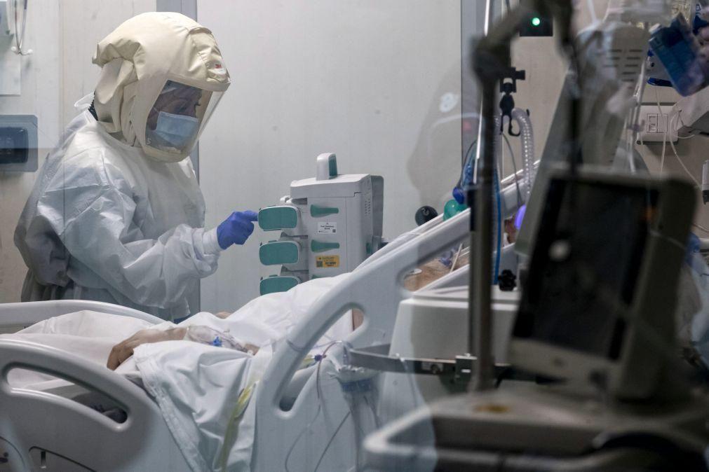 Covid-19: Itália regista 12.415 novos casos e 377 óbitos nas últimas 24 horas