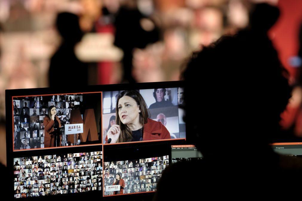 Presidenciais: Marisa Matias apela ao Governo para não adiar decisão sobre meios da saúde