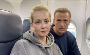 Navalny: União Europeia pede à Rússia que liberte