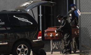 Covid-19: Covid-19: México com 463 mortes e mais de 11 mil casos em 24 horas