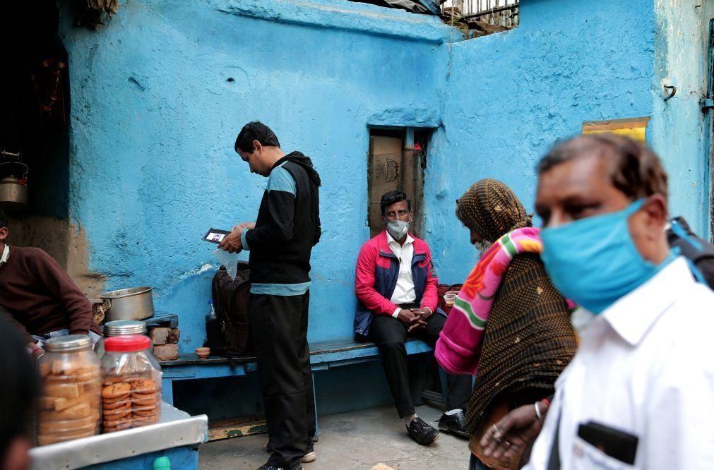 Covid-19: Índia com 145 mortos e mais de 13 mil casos nas últimas 24 horas
