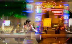 Jogo VIP em Macau cai 80,5% em 2020