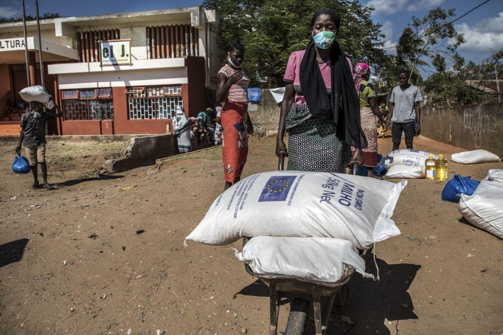 Organizações preveem 2,9 milhões em insegurança alimentar severa em Moçambique até março