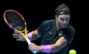 Tenista Rafael Nadal cumpre 800.ª semana consecutiva no 'top 10' mundial