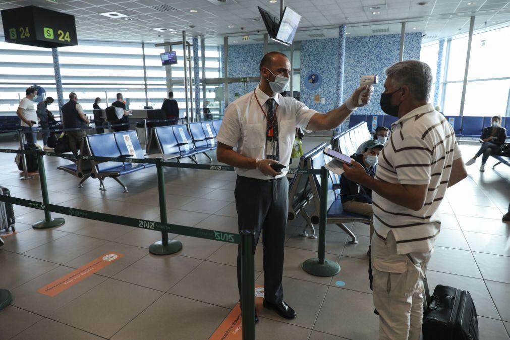 Covid-19: Tráfego aéreo em Portugal cai 58% em 2020 e tem pior registo desde 1998