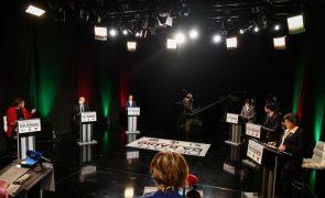 Presidenciais: Regionalização 'aqueceu' debate a seis e dividiu candidatos