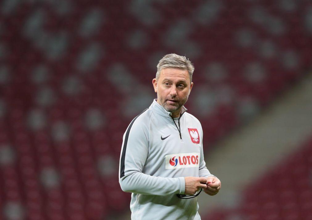 Federação polaca anuncia a saída do selecionador Jerzy Brzeczek
