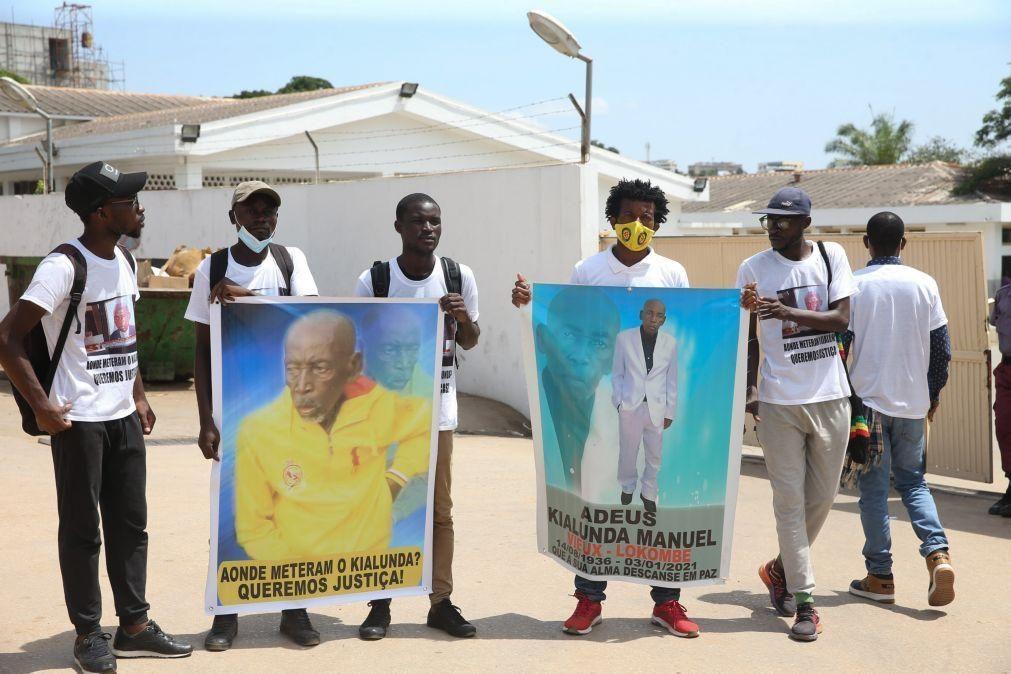 Familiares exigem entrega de cadáver de idoso desaparecido há 15 dias na morgue de Luanda