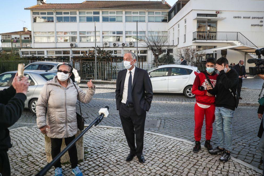 Covid-19: Marcelo alerta que pressão sobre o SNS pode atingir todos os doentes