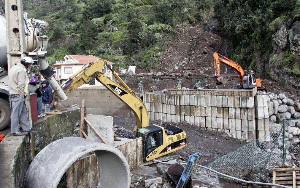 Danos provocados pelo temporal no norte da Madeira em 25 dezembro avaliados em 40,6 ME