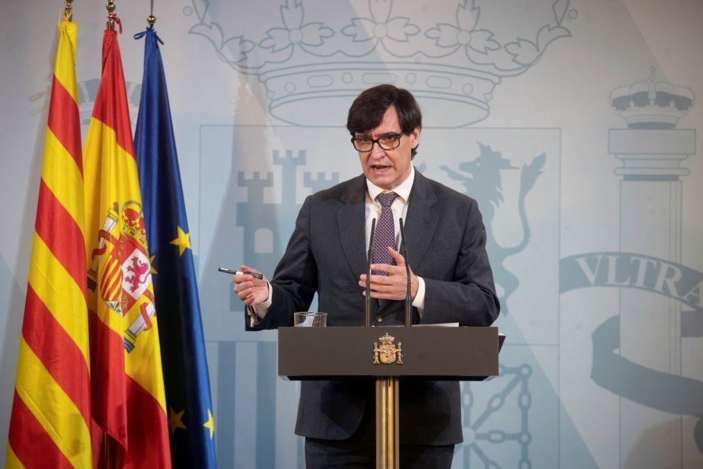 Covid-19: Espanha regista o maior incremento de casos durante um fim de semana