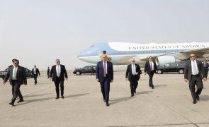 Covid-19: Trump reabre espaço aéreo para União Europeia, Reino Unido e Brasil