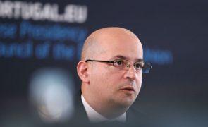 UE/Presidência: João Leão preside hoje, confinado, a Conselho Ecofin