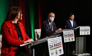 Presidenciais: Depois de debate em Lisboa, candidatos voltam a fazer-se à estrada