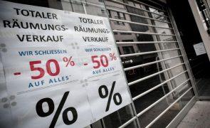 Taxa de inflação na Alemanha de 0,5% em 2020 foi a mais baixa desde 2009