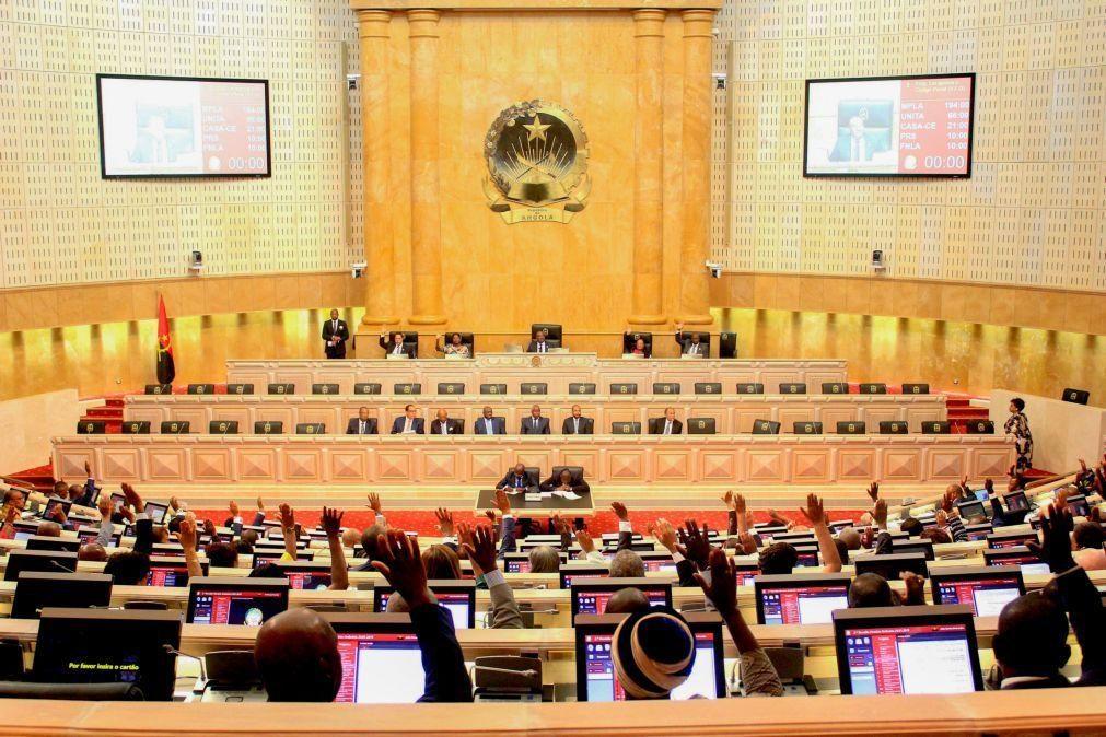 Parlamento angolano aprova proposta de lei com mais incentivos para grandes investidores