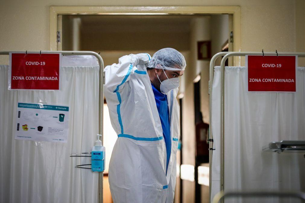 Covid-19: Portugal com mais 218 mortes e 10.455 novos casos