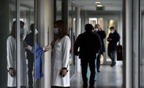 Covid-19: Hospital de campanha em Viseu recebe infetados