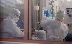 Covid-19: Hospitais de Beja e Évora com ocupação plena nos Cuidados Intensivos