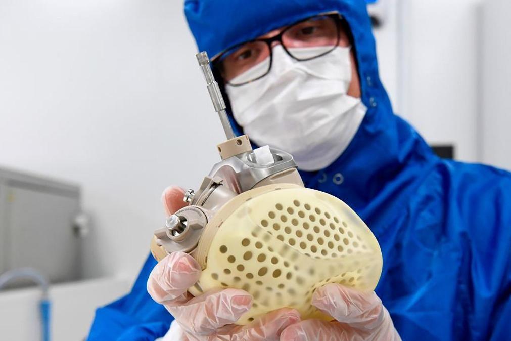 Primeiro coração artificial certificado pela União Europeia comercializado já em 2021