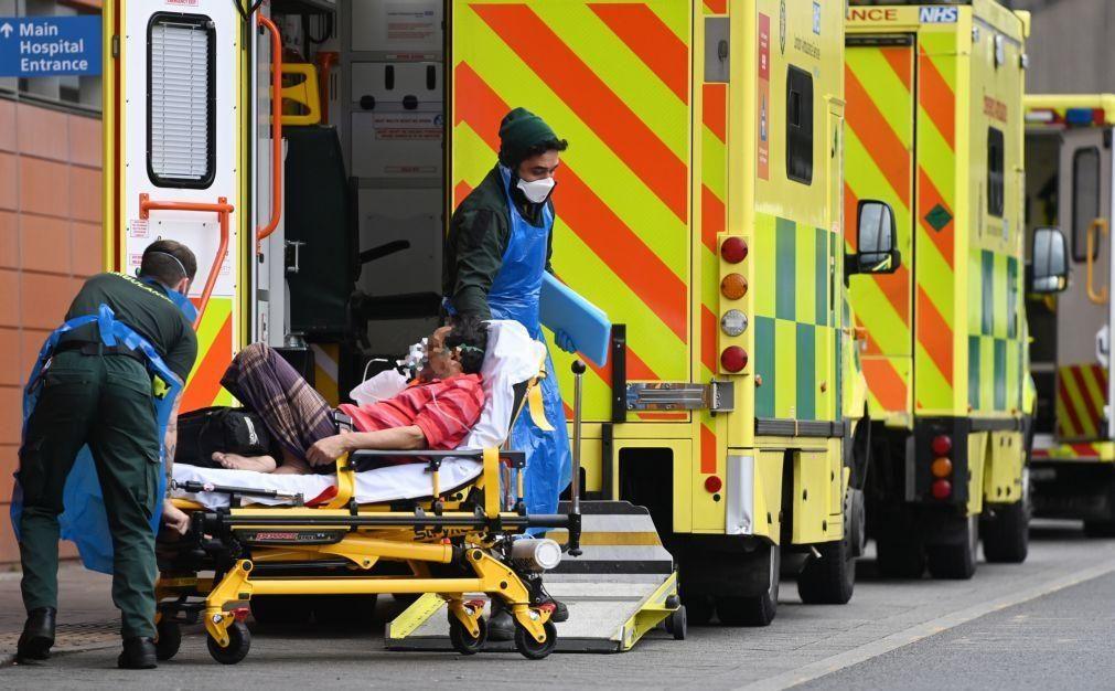 Covid-19: Reino Unido regista novo máximo de 1.610 mortes num só dia