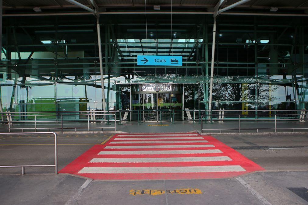 Aeroportos portugueses com 4.ª maior quebra de passageiros entre 12 países onde Vinci opera